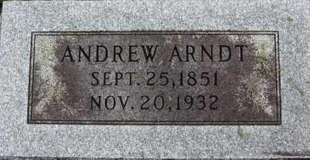ARNDT, ANDREW - Ashland County, Ohio | ANDREW ARNDT - Ohio Gravestone Photos