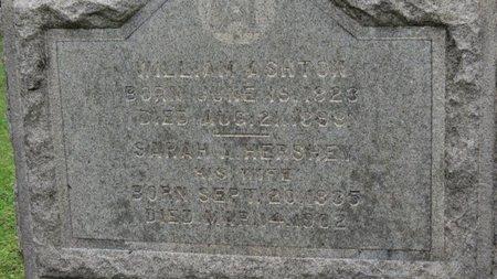 ASHTON, WILLIAM - Ashland County, Ohio | WILLIAM ASHTON - Ohio Gravestone Photos