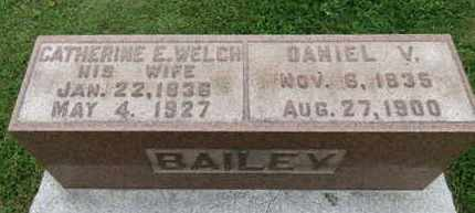 BAILEY, DANIEL V. - Ashland County, Ohio | DANIEL V. BAILEY - Ohio Gravestone Photos
