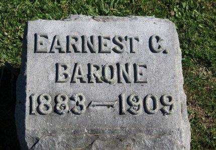 BARONE, EARNEST C. - Ashland County, Ohio | EARNEST C. BARONE - Ohio Gravestone Photos
