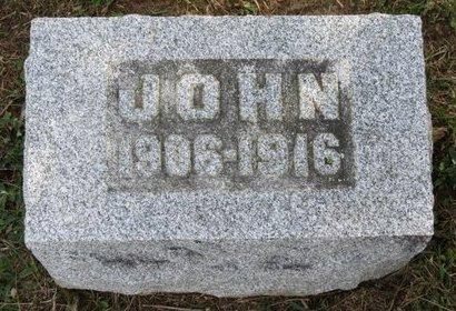BARRICK, JOHN - Ashland County, Ohio | JOHN BARRICK - Ohio Gravestone Photos