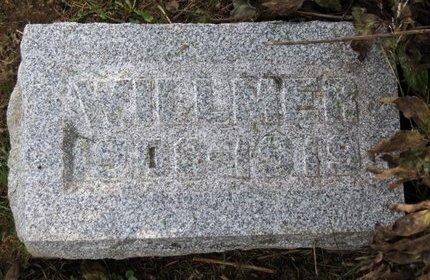BARRICK, WILLMER - Ashland County, Ohio | WILLMER BARRICK - Ohio Gravestone Photos