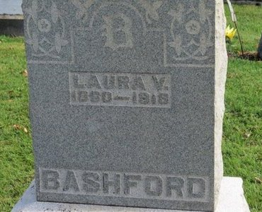 BASHFORD, LAURA V. - Ashland County, Ohio | LAURA V. BASHFORD - Ohio Gravestone Photos