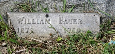 BAUER, WILLIAM - Ashland County, Ohio | WILLIAM BAUER - Ohio Gravestone Photos