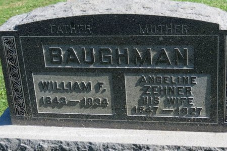 BAUGHMAN, ANGELINE - Ashland County, Ohio | ANGELINE BAUGHMAN - Ohio Gravestone Photos