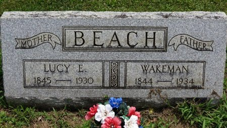 BEACH, WAKEMAN - Ashland County, Ohio | WAKEMAN BEACH - Ohio Gravestone Photos