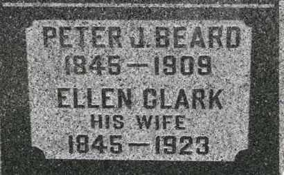BEARD, PETER J. - Ashland County, Ohio | PETER J. BEARD - Ohio Gravestone Photos