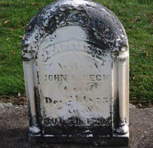 BECK, ISABELLE E. - Ashland County, Ohio | ISABELLE E. BECK - Ohio Gravestone Photos