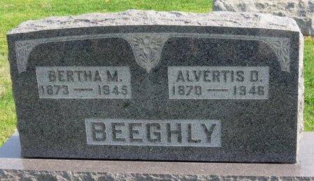 BEEGHLY, ALVERTIS D. - Ashland County, Ohio | ALVERTIS D. BEEGHLY - Ohio Gravestone Photos