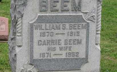 BEEM, WILLIAM S. - Ashland County, Ohio | WILLIAM S. BEEM - Ohio Gravestone Photos