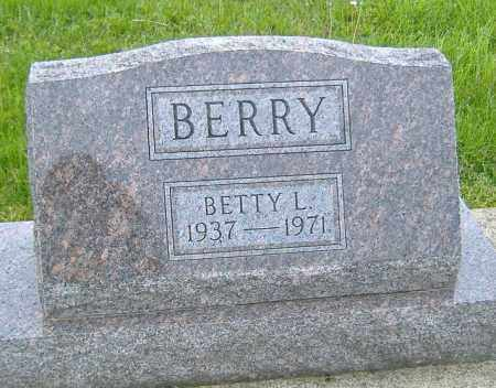 BERRY, BETTY L. - Ashland County, Ohio | BETTY L. BERRY - Ohio Gravestone Photos