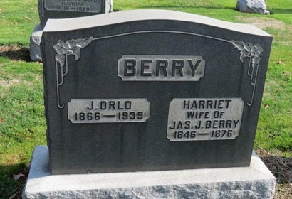 BERRY, HARRIET - Ashland County, Ohio | HARRIET BERRY - Ohio Gravestone Photos