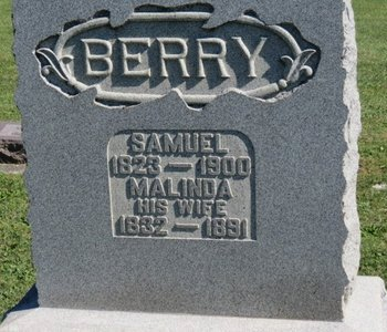 BERRY, MALINDA - Ashland County, Ohio | MALINDA BERRY - Ohio Gravestone Photos