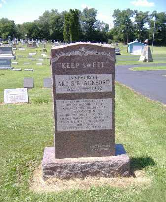 BLACKFORD,, ARD S. - Ashland County, Ohio | ARD S. BLACKFORD, - Ohio Gravestone Photos
