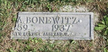 BONEWITZ, ELIZA - Ashland County, Ohio | ELIZA BONEWITZ - Ohio Gravestone Photos
