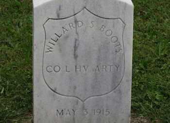BOOTS, WILLARD S. - Ashland County, Ohio | WILLARD S. BOOTS - Ohio Gravestone Photos