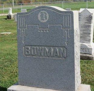 BOWMAN, FAMILY MARKER - Ashland County, Ohio | FAMILY MARKER BOWMAN - Ohio Gravestone Photos