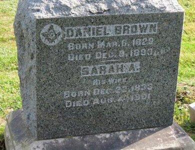 BROWN, SARAH A. - Ashland County, Ohio | SARAH A. BROWN - Ohio Gravestone Photos