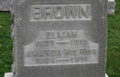 BROWN, AMANDA - Ashland County, Ohio | AMANDA BROWN - Ohio Gravestone Photos