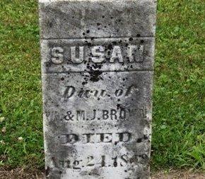 BROWN, SUSAN - Ashland County, Ohio | SUSAN BROWN - Ohio Gravestone Photos