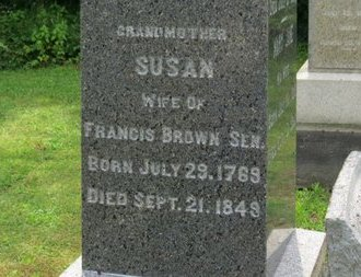 BROWN, FRANCIS - Ashland County, Ohio | FRANCIS BROWN - Ohio Gravestone Photos