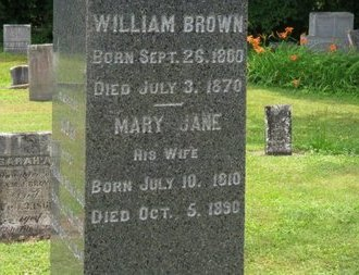 BROWN, MARY JANE - Ashland County, Ohio | MARY JANE BROWN - Ohio Gravestone Photos