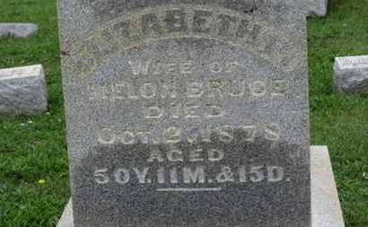 BRUCE, ELIZABETH - Ashland County, Ohio | ELIZABETH BRUCE - Ohio Gravestone Photos