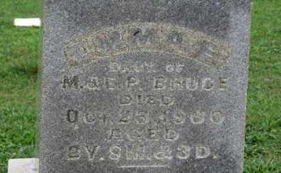 BRUCE, EMMA E. - Ashland County, Ohio | EMMA E. BRUCE - Ohio Gravestone Photos