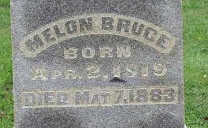BRUCE, MELON - Ashland County, Ohio | MELON BRUCE - Ohio Gravestone Photos