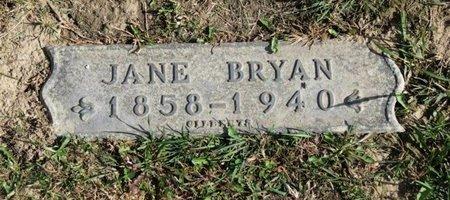 BRYAN, JANE - Ashland County, Ohio | JANE BRYAN - Ohio Gravestone Photos