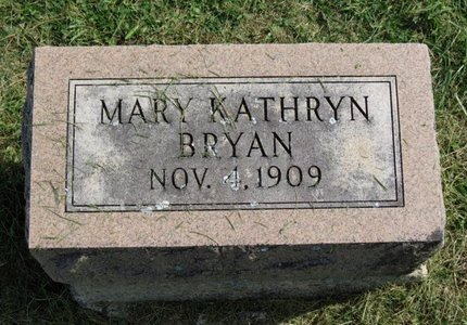 BRYAN, MARY KATHRYN - Ashland County, Ohio | MARY KATHRYN BRYAN - Ohio Gravestone Photos