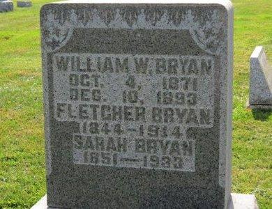 BRYAN, FLETCHER - Ashland County, Ohio | FLETCHER BRYAN - Ohio Gravestone Photos