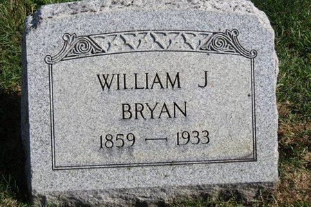BRYAN, WILLIAM J. - Ashland County, Ohio | WILLIAM J. BRYAN - Ohio Gravestone Photos