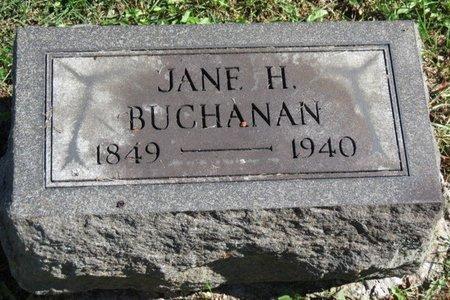 BUCHANAN, JANE H. - Ashland County, Ohio | JANE H. BUCHANAN - Ohio Gravestone Photos