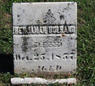 BULHAND, BENJAMAN - Ashland County, Ohio   BENJAMAN BULHAND - Ohio Gravestone Photos