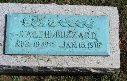 BUZZARD, RALPH - Ashland County, Ohio   RALPH BUZZARD - Ohio Gravestone Photos