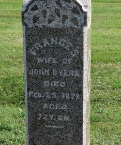 BYERS, FRANCES - Ashland County, Ohio | FRANCES BYERS - Ohio Gravestone Photos