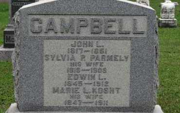 CAMPBELL, MARIE L. - Ashland County, Ohio | MARIE L. CAMPBELL - Ohio Gravestone Photos