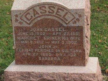 CASSEL, MARGRET - Ashland County, Ohio | MARGRET CASSEL - Ohio Gravestone Photos