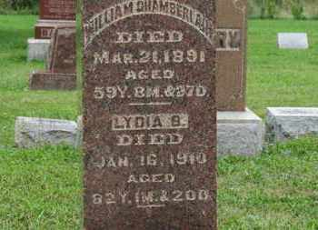 CHAMBERLAIN, WILLIAM - Ashland County, Ohio | WILLIAM CHAMBERLAIN - Ohio Gravestone Photos