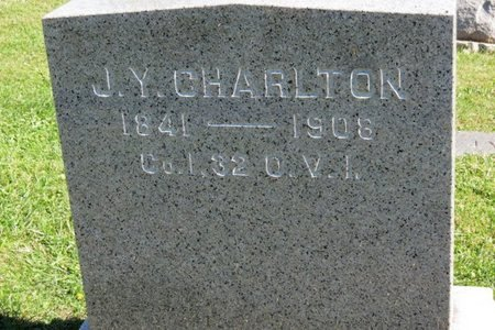 CHARLTON, J.Y. - Ashland County, Ohio | J.Y. CHARLTON - Ohio Gravestone Photos