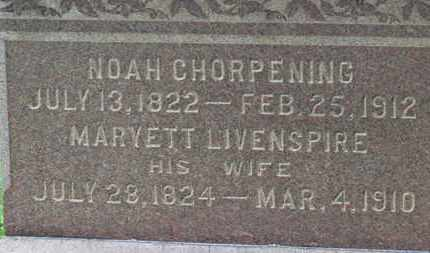 CHORPENING, MARYETT - Ashland County, Ohio | MARYETT CHORPENING - Ohio Gravestone Photos