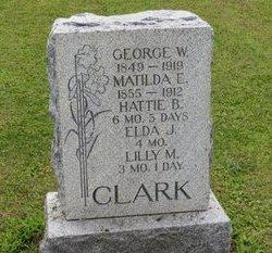CLARK, GEORGE W. - Ashland County, Ohio | GEORGE W. CLARK - Ohio Gravestone Photos