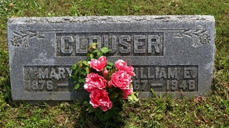 CLOUSER, WILLIAM E. - Ashland County, Ohio | WILLIAM E. CLOUSER - Ohio Gravestone Photos