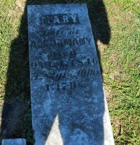 CORMANY, MARY - Ashland County, Ohio | MARY CORMANY - Ohio Gravestone Photos
