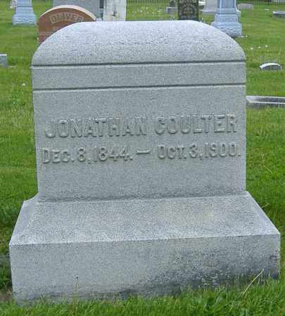 COULTER, JONATHAN - Ashland County, Ohio | JONATHAN COULTER - Ohio Gravestone Photos