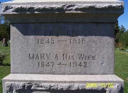 CROFOOT, MARY - Ashland County, Ohio | MARY CROFOOT - Ohio Gravestone Photos