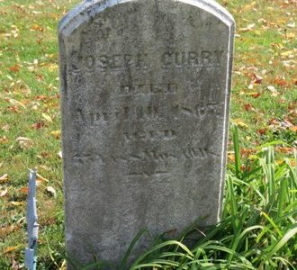 CURRY, JOSEPH - Ashland County, Ohio | JOSEPH CURRY - Ohio Gravestone Photos
