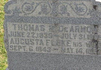 DEARMON, AUGUSTA - Ashland County, Ohio | AUGUSTA DEARMON - Ohio Gravestone Photos