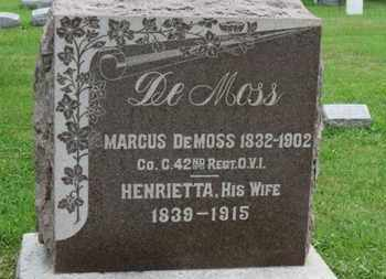 DEMOSS, MARCUS - Ashland County, Ohio | MARCUS DEMOSS - Ohio Gravestone Photos